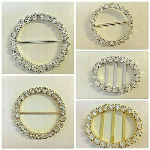 Crystal Diamante Buckles Top Quality All Styles