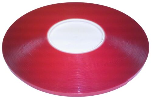 """SKmax SUPER-X tape 1//4/""""X108/' double side acrylic foam Clear TAPE 0.025/""""THICKNESS"""