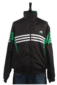 Vintage-90s-Adidas-Casuals-Retro-Shell-Chaqueta-de-pista-Chandal-Top-sizexxl-SW1470