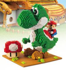 Nano block Super Mario Yoshi Monster Figure Diamonds mini Building blocks toy#
