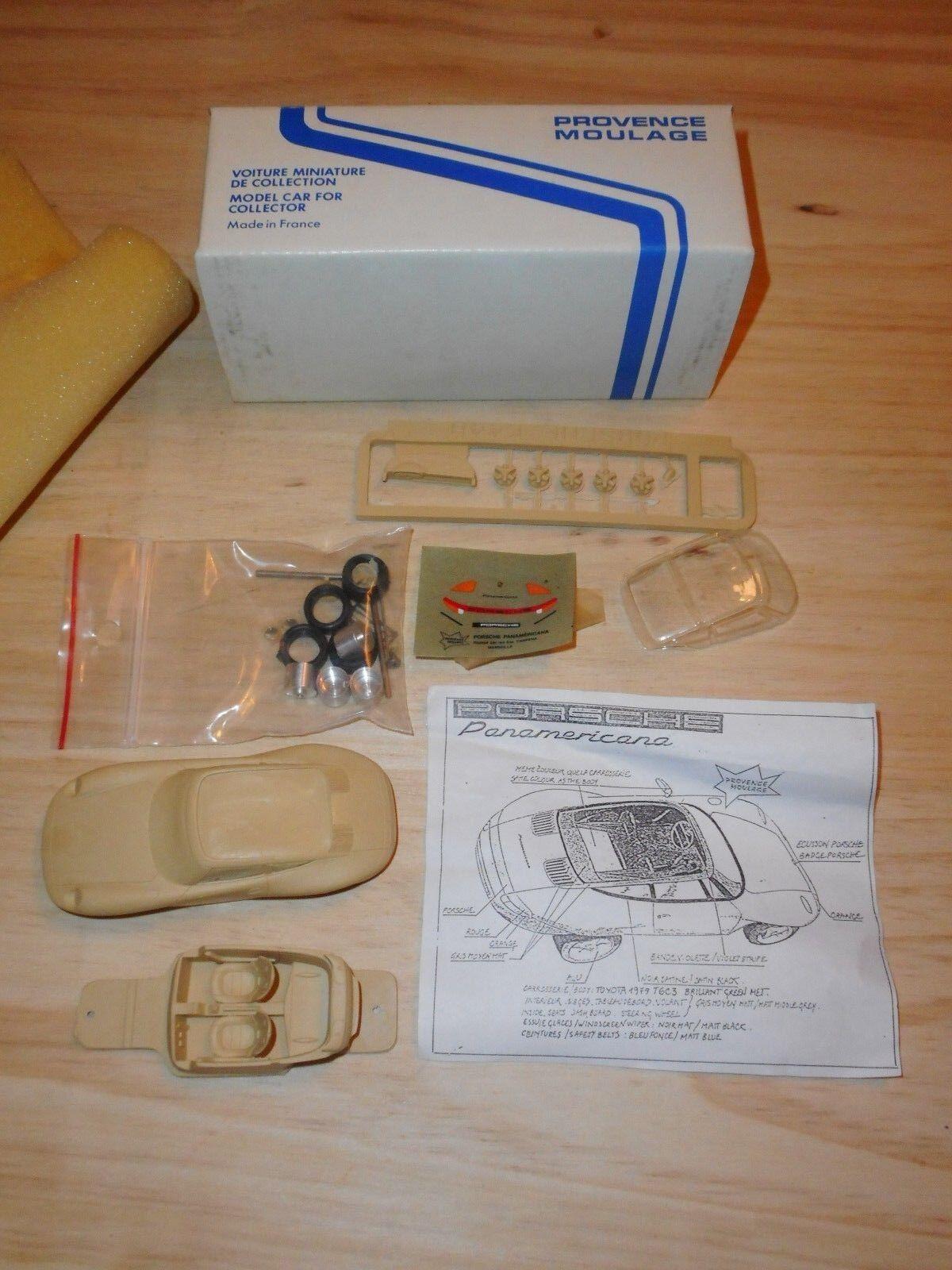 PROVENCE MOULAGE  kit vintage 1 43  PORCHE PANAMERICANA 1989