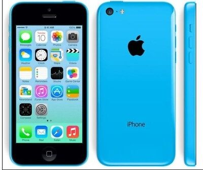 "Apple iPhone 5C-16GB 32GB GSM ""Factory Unlocked"" Smartphone Cell Phone c"