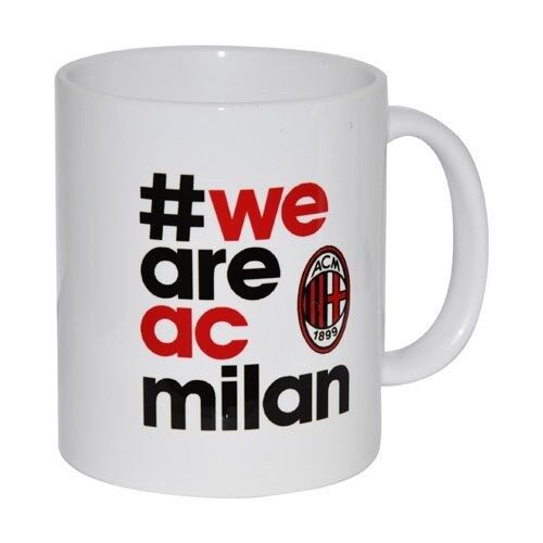 Cup Original AC Milan Football Red and Black Official Gift Box We Are