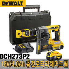 Dewalt Dch273p2 Charge Rotary Hammer Drill 18v 50ah 220v Charger
