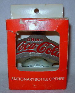 coca cola wall mount starr x bottle opener metal made in germany new in box ebay. Black Bedroom Furniture Sets. Home Design Ideas