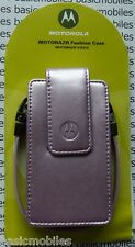 GENUINE/ORIGINAL Motorola RAZR V3/V3i Fashion Carry Case Pouch Light Pink Colour