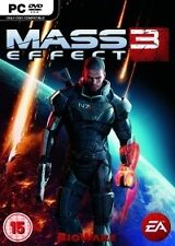 Mass Effect 3 (PC DVD) NEW & Sealed