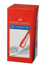 Faber Castell Correction Pen Pack Of 10 White Free Shipping