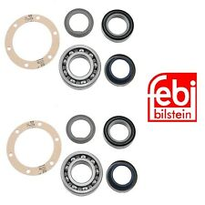 Left and Right 2 Rear Axle Shaft back Wheel Bearing kit Set for Mercedes 55-1976