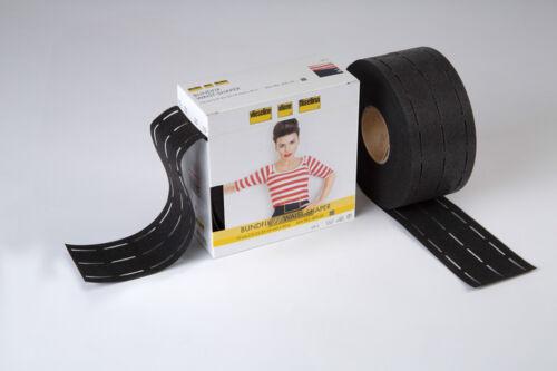 Vlieseline Bundfix Meterware 7 cm breit schwarz