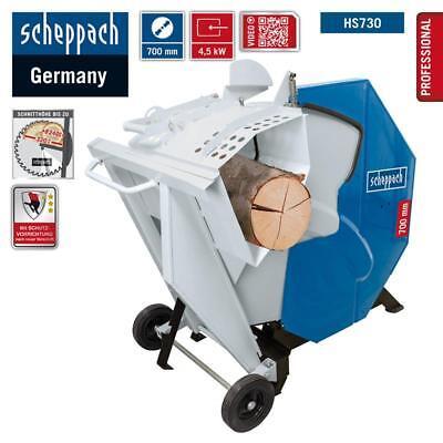 Scheppach Wippkreissäge HS730 Wippsäge Kreissäge 700mm Sägeblatt Brennholzsäge