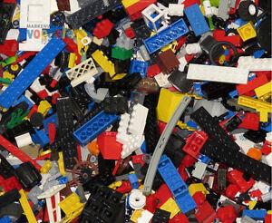 1 kg  LEGO® ca.700 Teile LEGO Kiloware LEGO Bausteine & Bauzubehör Platten Räder Sonderteile Stein P.4