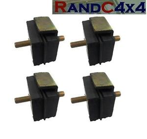 4x NRC2052 Land Rover Series 2 2a 3 Diesal Engine & Gearbox Mounting Set