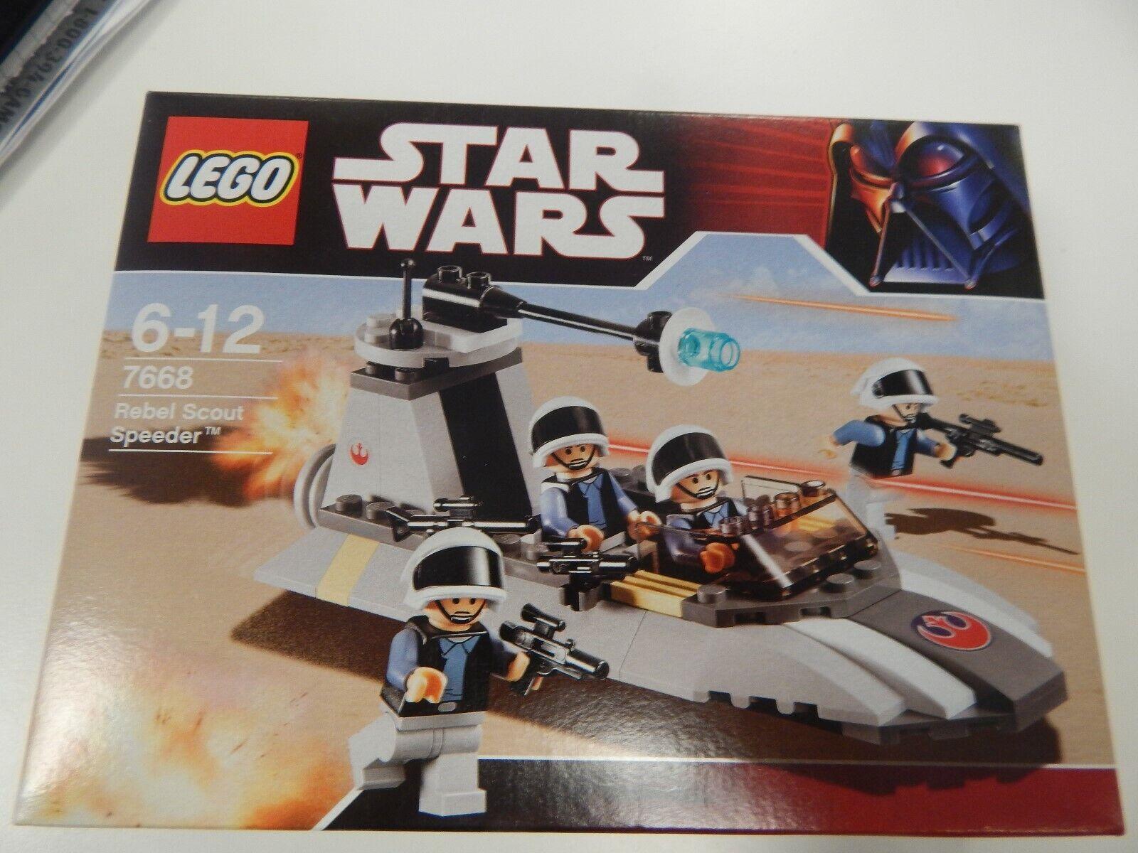 Star Wars Rebel Scout Speeder by LEGO 7668