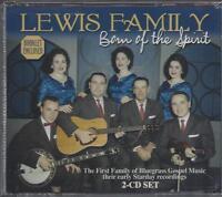 Lewis Family Born Of The Spirit Bluegrass Gospel 46 Songs/booklet 2 Cd Set
