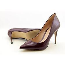Aldo Uloaviel Women US 7 Burgundy Heels Pre Owned  1796