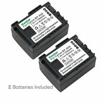 2x Kastar Battery For Canon Bp-808 Ivis Hf200 Legria Hf M306 Legria Hf M31