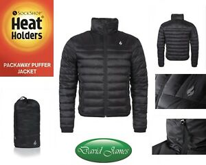6 Thermal Heat 5 Puffer Black Tog Houders Warm Packaway 9 Jacket maten Beschikbaar qtwnTvrtXx