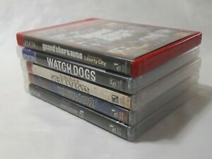 Playstation-3-Game-Lot-Bundle-5-Games-All-With-Manuals-And-Inserts-EUC