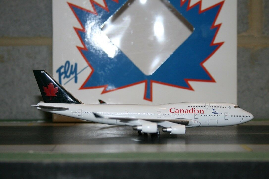 Aeroclassics 1 400 Canadian Airlines Boeing 747-400 C-FBCA (ACCFBCA) (ACCFBCA) (ACCFBCA) Model Plane f6f1af