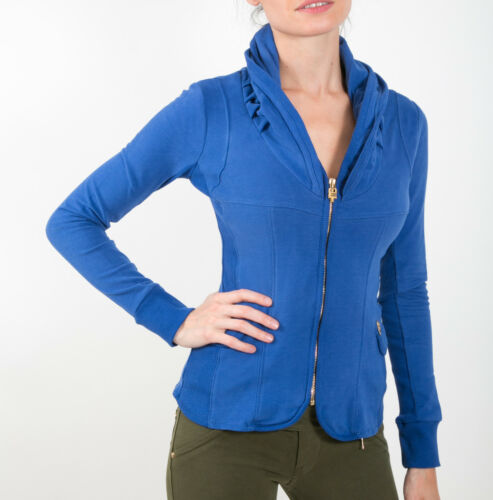 maniche in Blue a Incontrato Collorough jeans Slim Stretch peluche Royal Jacket lunghe WHwx1Pqx8d