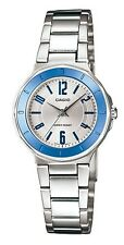 Casio LTP1367D-7A Women's Standard Analog Stainless Steel Silver Dial Watch