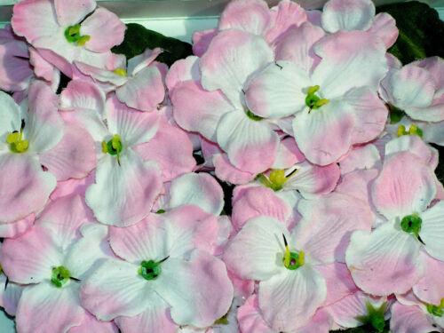 24 er Set Mix Streu Blüten 3,5-4,5 cm NEW PINK verarbeiten Bastelposten 5744