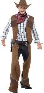 Mr-Fringe-Cowboy-Kostuem-NEU-Herren-Karneval-Fasching-Verkleidung-Kostuem