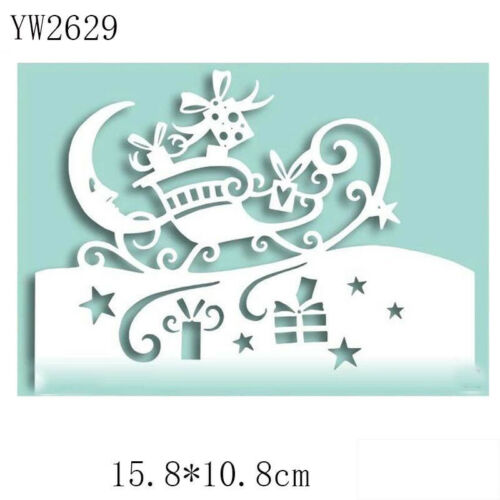 Mouse Edger Metal Cutting Dies Scrapbooking DIY Card Album Embossing Stencil