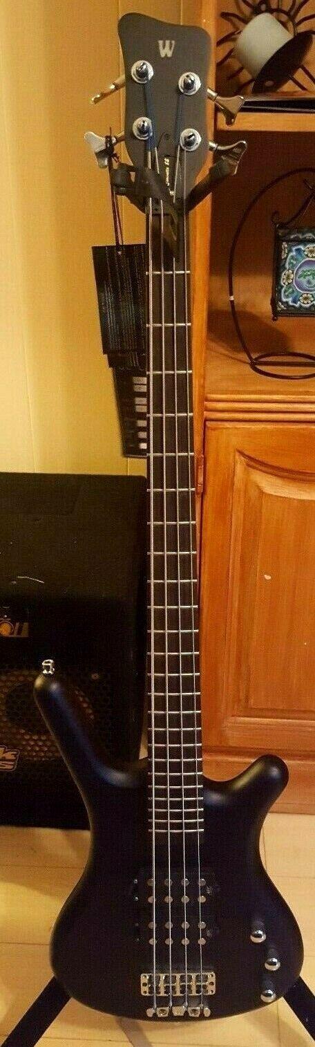 Warwick Rockbass Corvette    4-String Double Buck Bass nirvana schwarz oil