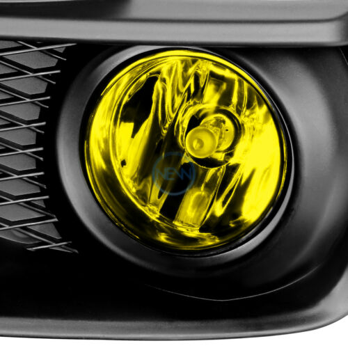 Amber Yellow Bumper Fog Light Lamp+Bezel+Switch for 2015-2017 Impreza WRX//STI