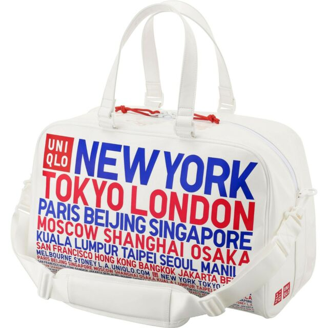 Uniqlo X Novak Djokovic Boston Bag 2017 U S Open Tennis Sports Gym Tote