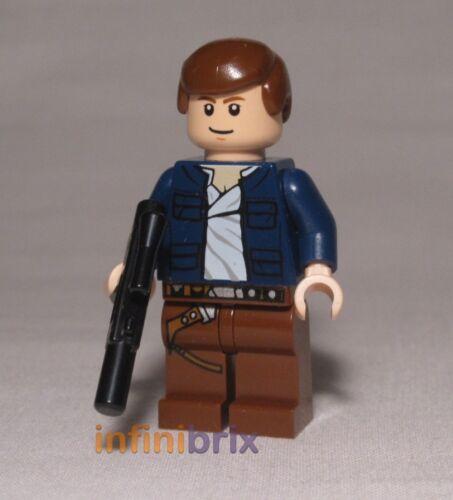Lego Han Solo Minifigure Blue Jacket from set 8129 Star Wars NEW sw290