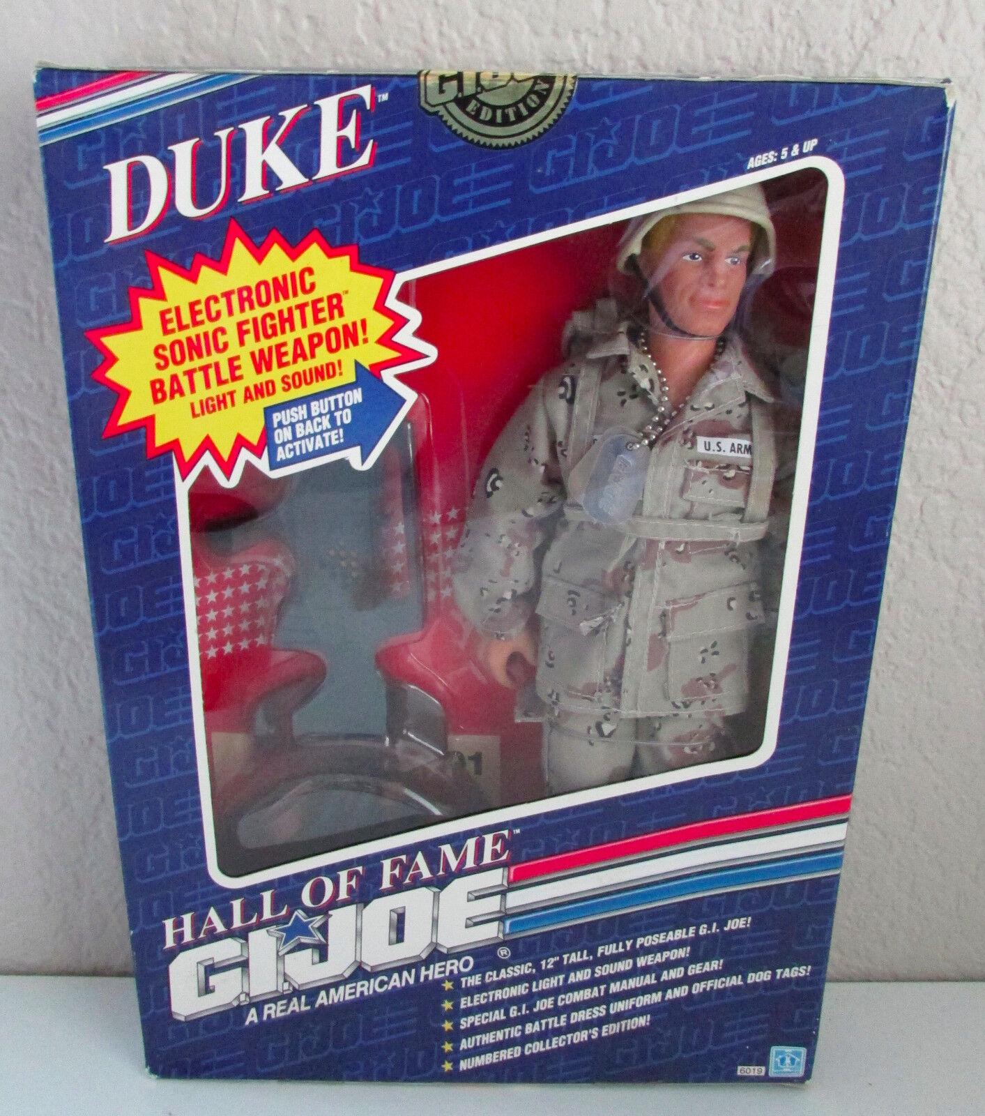 Vtg NIB 12  GI Joe Hasbro Hall of Fame Duke Limited Edition Action Figure