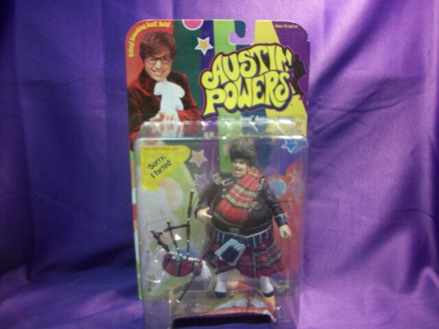 McFARLANE TOYS AUSTIN POWERS FAT MAN FAT BASTARD ACTION FIGURE WITH BAGPIPE
