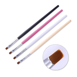 Image Is Loading Powder Dust Clean Up Brush Flat Cuticle Cleaning