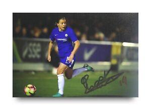 Fran-Kirby-Signed-6x4-Photo-Chelsea-Womens-England-Autograph-Memorabilia-COA