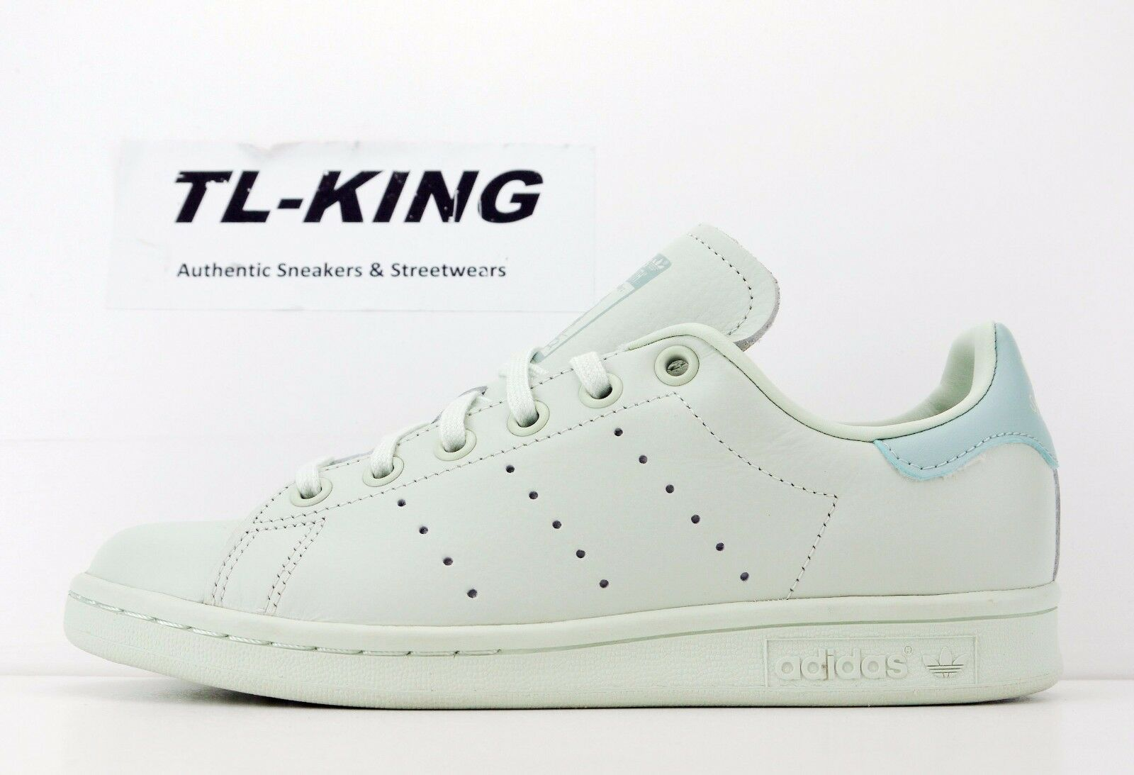 0e90df70465b3e adidas Stan Smith Big Kids Cp9812 Linear Tactile Green Athletic ...
