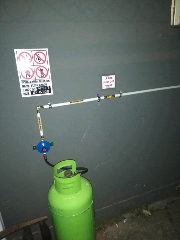LPG gas installer