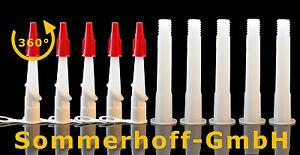 5-mal-Kartuschenspitze-360-drehbare-Kartuschenduese-mit-Kappe-5-X-Verlaengerung