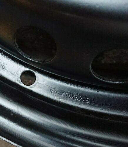CERCHI IN ACCIAIO FORD 6,5j x 16 pollici et52 5 Focus II III C-Max Volvo LK 5x108 MONDEO