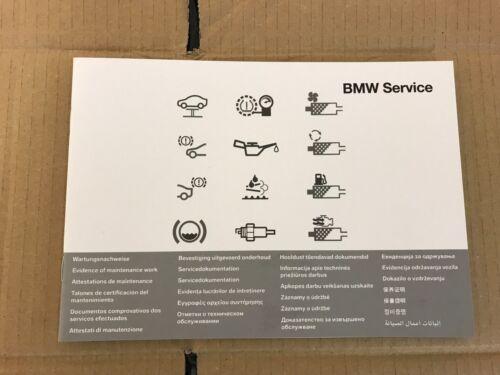 BMW SERVICE BOOK 7 Z4 SERIES F01 F02 F03 F04 G11 G12 E89//Owners//Handbook//Manual