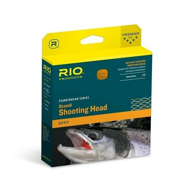 RIO Scandi Heads - 330gr - 31ft  - New  official authorization