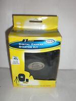 Digital Concepts 2 Piece Digital Camera Starter Kit Carrying Case,missing Tripod