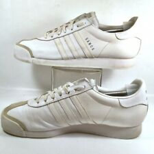 detailed look 9aebf ccba3 Adidas Originals Samoa Mens Leather Athletic Shoes Fashion Sneakers White  US 13