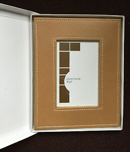 Photo frame for 6 x 4 photo or picture called leather look new in box - <span itemprop='availableAtOrFrom'>Harrow, United Kingdom</span> - Photo frame for 6 x 4 photo or picture called leather look new in box - Harrow, United Kingdom