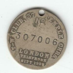 Dogs-Token-London-City-T-W-Tail-Waggers-Club-034-Help-My-Pals-034-Silver-Medal-35