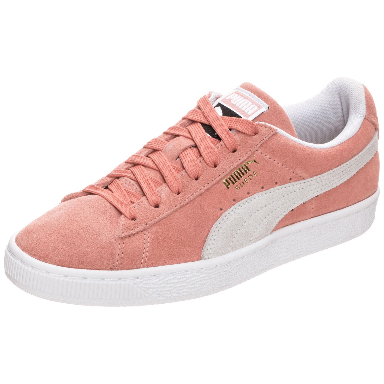 Puma Suede Classic Sneaker Damen rosa / grau NEU