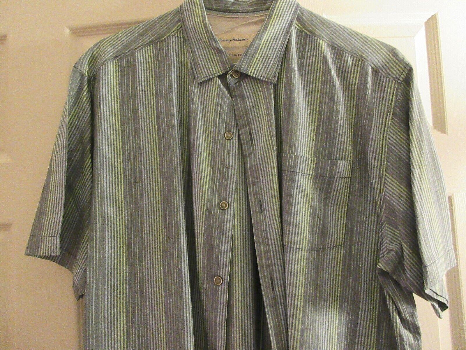 Tommy Bahama Original Fit , Men's Short Sleeve , XL/TG