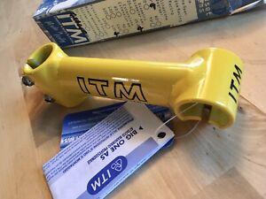 120 Bright Yellow ITM BIG ONE STEM 25,6 Marco Pantani Bianchi